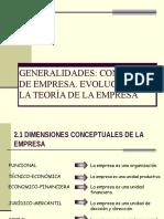 Tema 1 Generalidades de Empresa