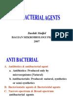 4 - Antibiotik, Mekanisme Resistensi & Sterilisasi