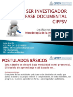 Ser Investigador Fase Documental Caracas