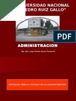 Teoria Administrativa - Unidad II