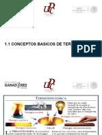 1.1 Conceptos Basicos de Termodinamica
