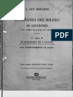 Ropartz Enseñanza Del Solfeo Libro 2 B