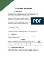 Drenaje y Estudio Hidrológico Definitivo