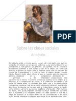 Aristoteles, Sobre Las Clases Sociales