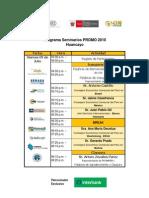 Programa Seminario Central