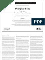 Memphis Blues W.C. Handy (Arr. Ellington:Strayhorn 1946)(Pts:Sc)