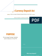 Foreign Currency Deposit Act