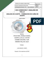 Lab de Analisis de Aceite-Formacion de Cuña de Aceite