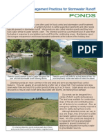 Stormwater - Retention Pond (Wet Pond) vs. Detention Pond (Dry Pond)