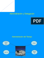 Administración y Delegación