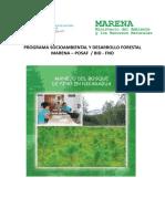 Manejo del Bosque de Pino en Nicaragua