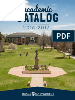 Regis Academic Catalog 2016