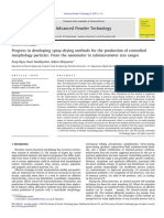 Progress in Developing Spray-drying Methods for the Production of Controlled Morphology Particles_ From the Nanometer to Submicrometer Size Ranges