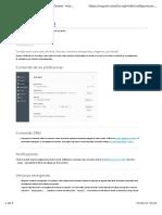 Firefox Configuración Para Tipos de Letra, Idiomas, Ventanas Emergentes, Imágenes y JavaScript