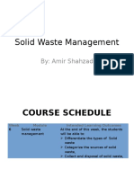 Lecture 06 Solid Waste Management