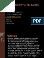 BENTUK-BENTUK SEL BAKTERI.pptx