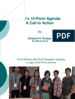 PLAI 10 Point Agenda