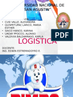 Logistica de bimbo