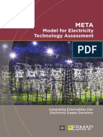 META Model for Electricity Technology Assessment