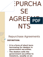 Repurchase Agreements (1)