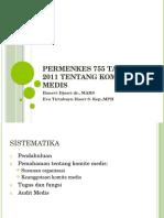 4. Permenkes 755 Tahun 2011 Tentang Komite Medis