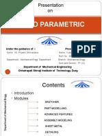 Creo Parametric Vocational Tarnning PPT