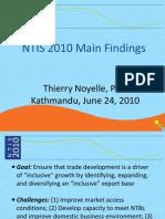 NTIS 2010 main findings