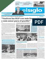 Edición Impresa Elsiglo 18-01-2017