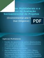 Agências Multilaterais e Avaliação Socioambiental