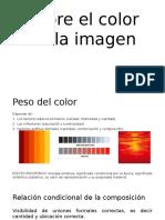 Sobre El Color en La Imagen