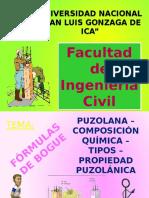 Formulas de Bogue-puzolana Tema19