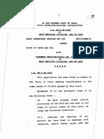 SAFAI KARAMCHARI ANDOLAN AND ORS W.P.(Civil) 583 of 2003 Judgement