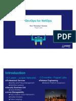 Puppet - DevOps for Netops.pdf