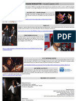The Sonu Nigam Newsletter 2nd Quarter 2010