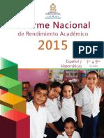 Informe Nacional Del 2015_07032016