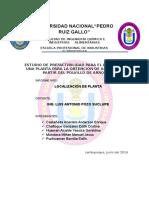 Informe N2 Localizacion de Planta[1]