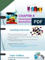 Chap 4 - Biochemical Analysis (Student)