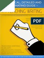 Teaching writing like a pro