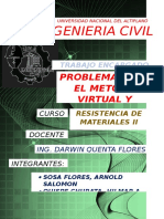 Trabajo Encargado Metodo Castigliano Metodo Trabajo Virtual