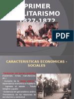 MILITARISMO DEL PERÚ 1827-1872.pptx