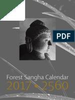 Forrest Sangha Calendar 2017