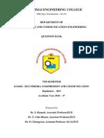 EC6018-Multimedia Compression and Communication