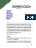 Optimizacion Operaciones Reparacion y Mantenimiento Componentes Maquinas Briqueteadoras