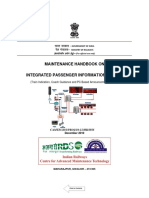 Maintenance Handbook on Integrated Passenger Information System(1)