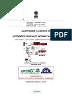 Maintenance Handbook on Integrated Passenger Information System(1)