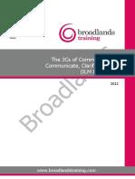The 3Cs of Communication