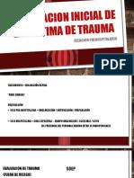 Evaluacion Inicial de La Victima de Trauma