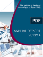 Ican Annual Report 2013 14