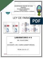 Ley de Faraday lab 6
