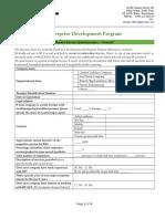 Market Survey Questionnaire (Conventional NDT)